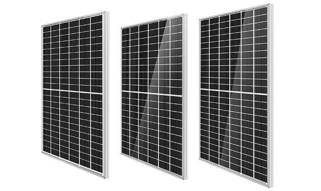 9本バスバー採用の単結晶パネル発売