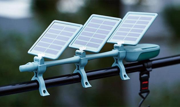 色素増感太陽電池の独立電源発売