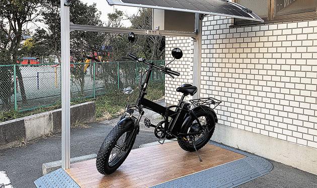再エネ電力で走る電動バイク