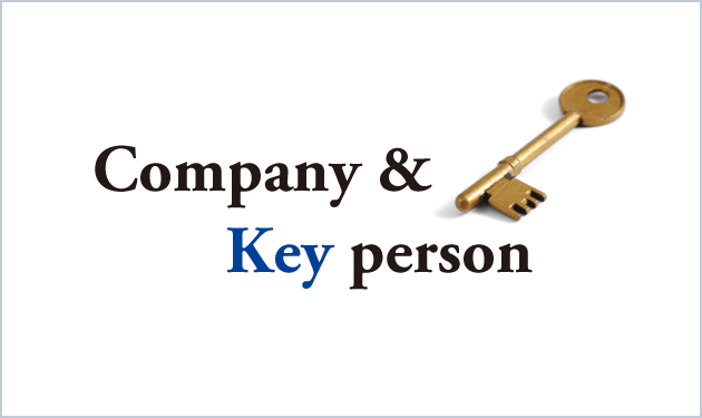Company & Key person